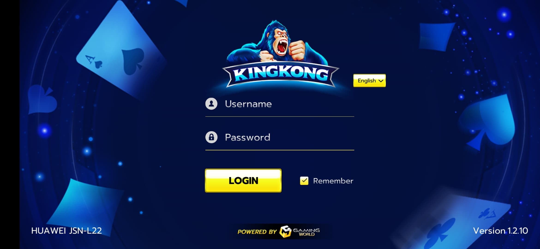 Unduh KingKong IOS dan Android